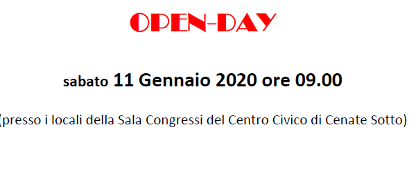 Immagine open day 11 01 20-2