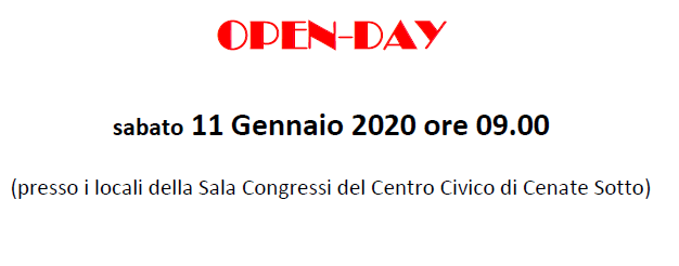 Immagine open day 11 01 20-2